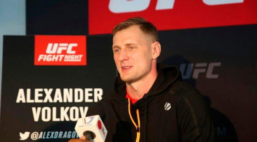 Александр Волков не имеет претензий к UFC по поводу титульного боя для Леснара