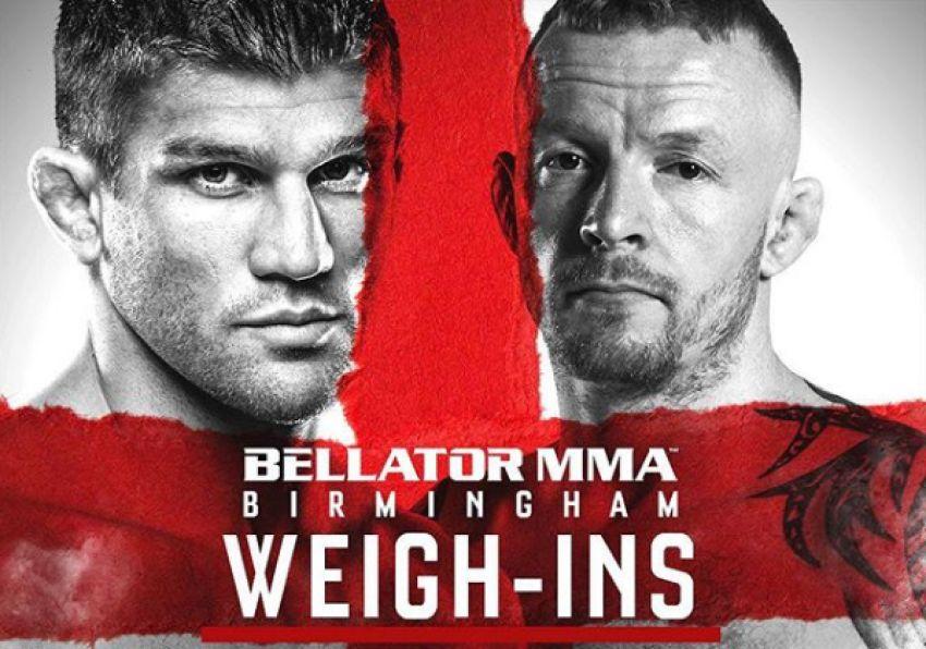 Результаты взвешивания участников Bellator Birmingham: Примус - Уайлд