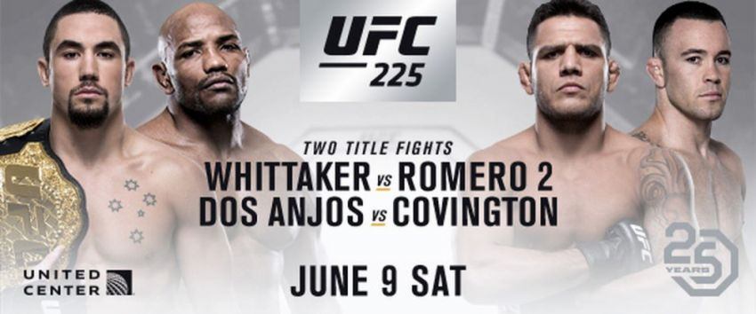 РП ММА №19: UFC 225 Уиттакер VS. Ромеро 2