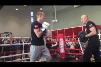 Видео открытая тренировка Эдуарда Трояновского и Джулиуса Индонго