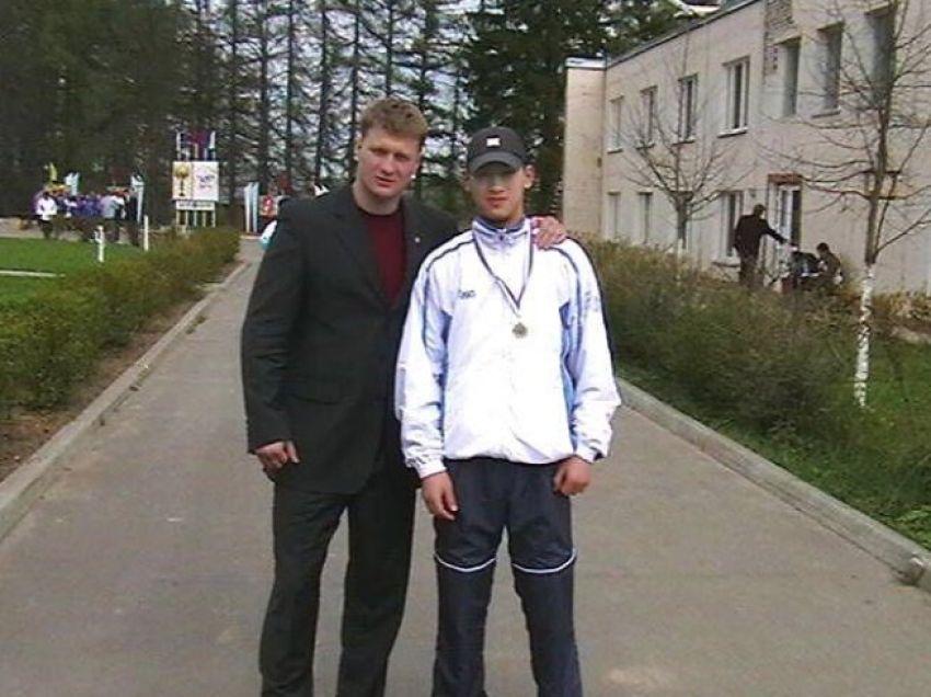 Дмитрий Бивол и Александр Поветкин 2005 год
