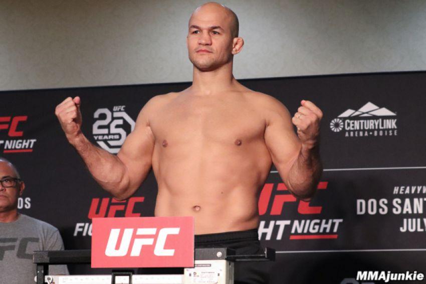 Видео взвешивания участников турнира UFC Fight Night 133: Дос Сантос - Иванов