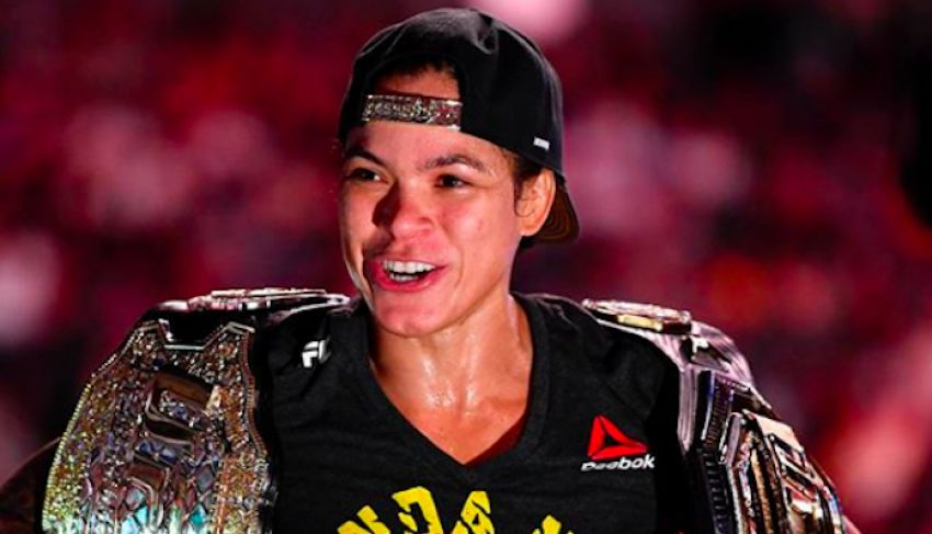 Amanda Nunes comments on rumors about the disbandment of the UFC women's featherweight division