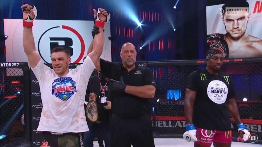 Fight video: Vadim Nemkov vs Phil Davis (04/17/2021)  Bellator 257