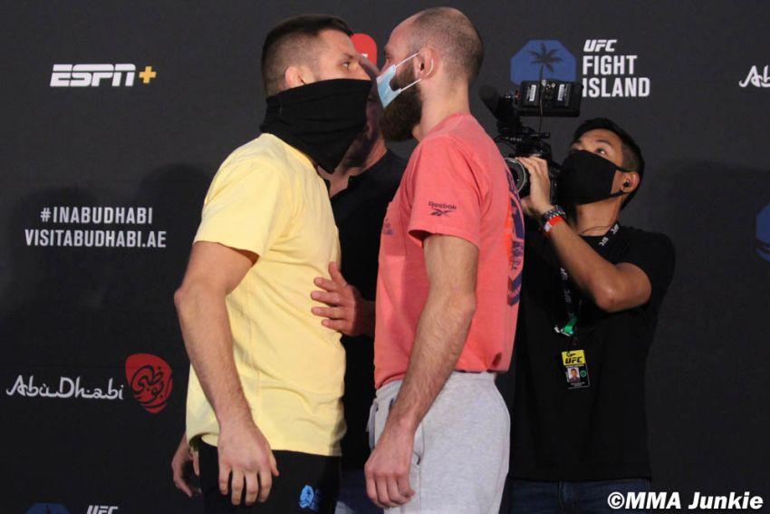 Видео боя Матеуш Гамрот - Гурам Катателадзе UFC on ESPN+ 38