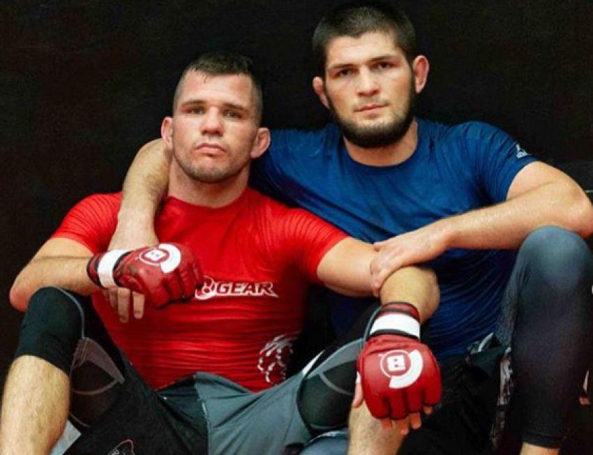 Нурмагомедов показал, как тренирует грэпплинг перед боем с МакГрегором