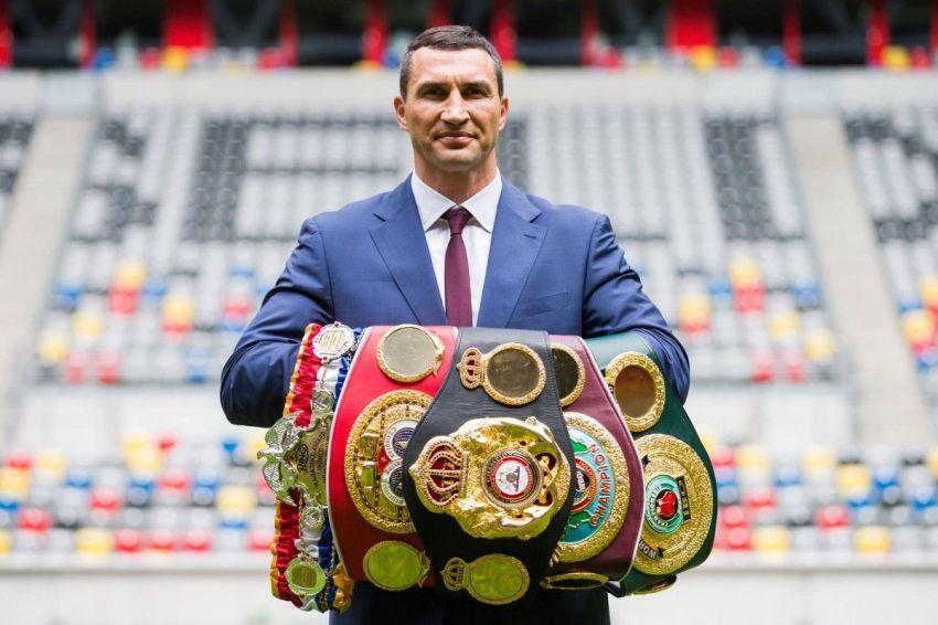 Владимиру Кличко исполняется 44 года