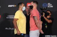 Видео боя Клаудио Сильва - Джеймс Краузе UFC on ESPN+ 38