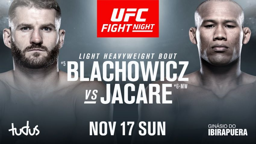 Прямая трансляция UFC on ESPN+ 22: Ян Блахович - Роналдо Соуза