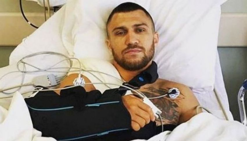 Василий Ломаченко высказался о состоянии своего плеча перед боем с Накатани