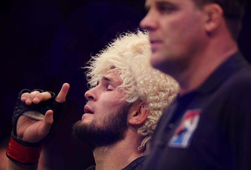 Хабиб Нурмагомедов подвел итог своему выступлению на UFC 242