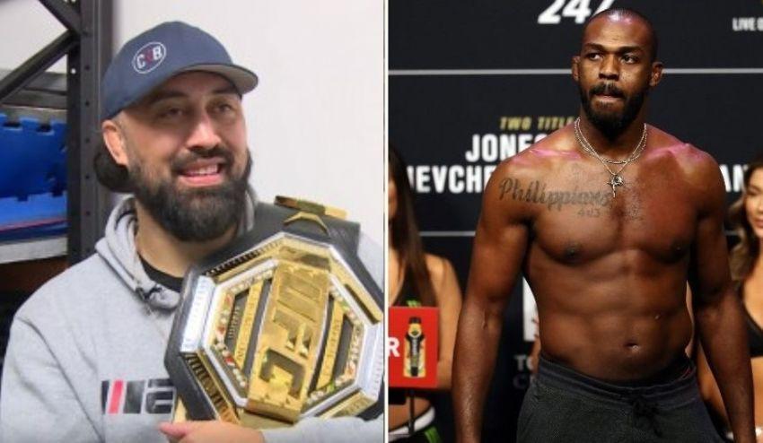 Adesanya's coach is confident that Jon Jones cannot be considered the greatest fighter given the doping scandals