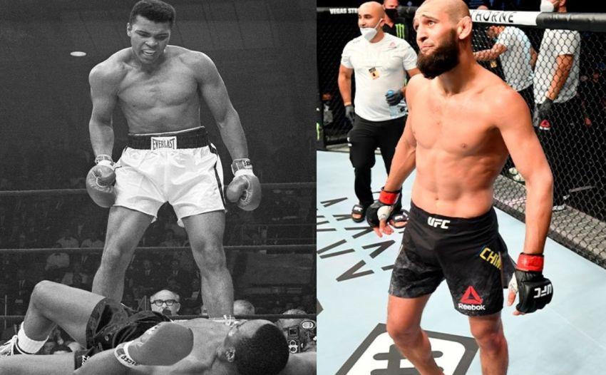 """Хамзат Чимаев сравнил себя с Мухаммедом Али: """"Я величайший"""""""