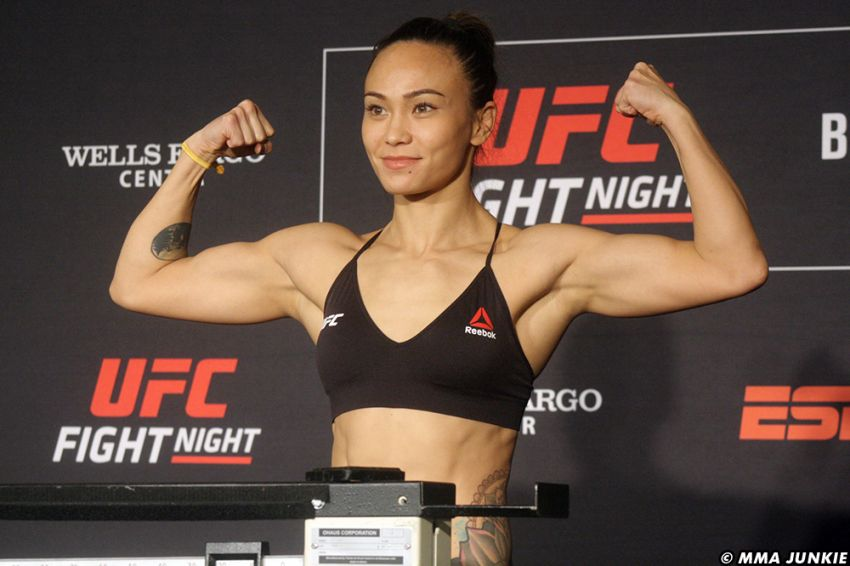 Мишель Уотерсон победила Каролину Ковалькевич на UFC on ESPN 2