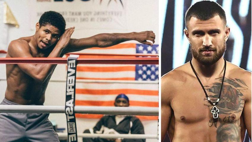 Шакур Стивенсон пожаловался на расизм в боксе, упомянув Василия Ломаченко
