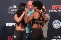 Видео боя Клаудия Гаделья - Анджела Хилл UFC on ESPN 8