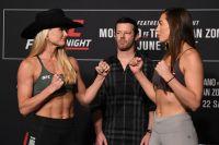 Видео боя Андреа Ли - Монтана Де Ла Роса UFC Fight Night 154