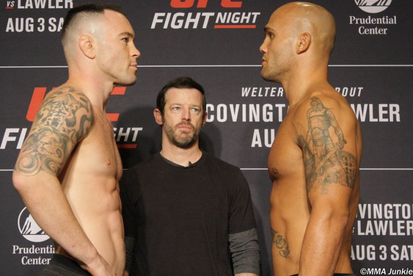 Видео боя Колби Ковингтон - Робби Лоулер UFC on ESPN 5