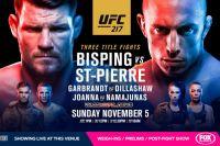 Официальный постер к UFC 217