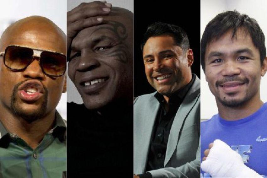 Forbes: Мейвезер, Тайсон, Де Ла Хойя и Пакьяо вошли в топ-20 самых высокооплачиваемых спортсменов в истории