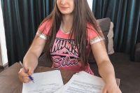 Лиана Джоджуа подписала контракт с UFC