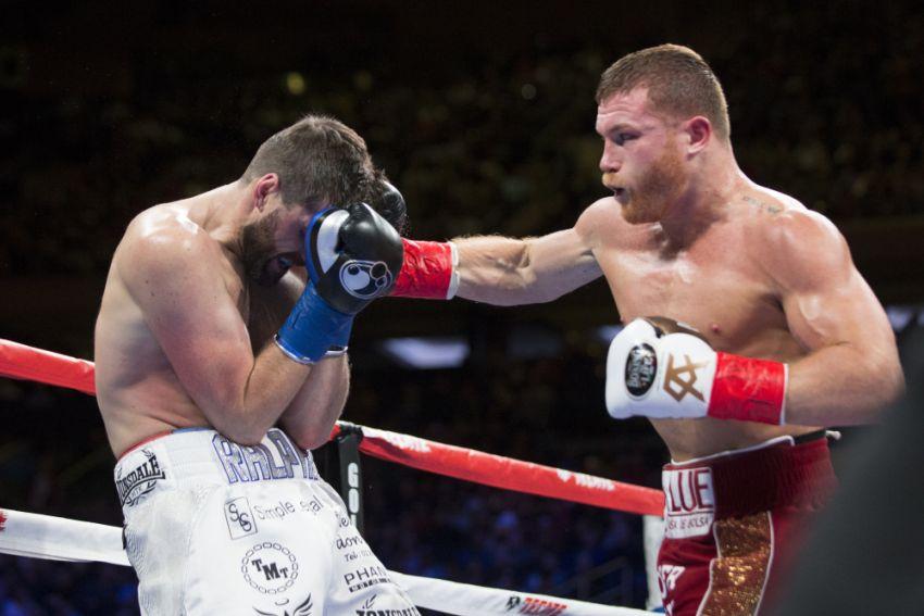"""Боксерские перчатки """"Канело"""" допущены NSAC к его бою с Джейкобсом"""