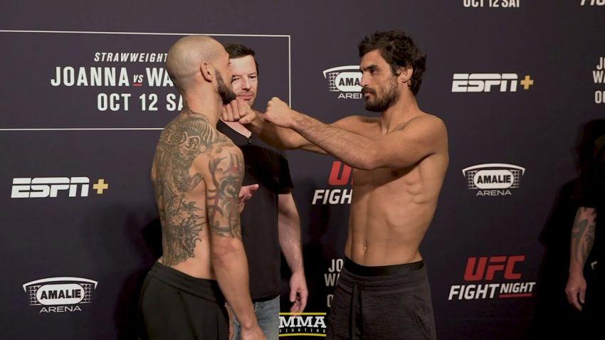 Битвы взглядов участников турнира UFC Fight Night 161: Йоанна Енджчейчик - Мишель Уотерсон