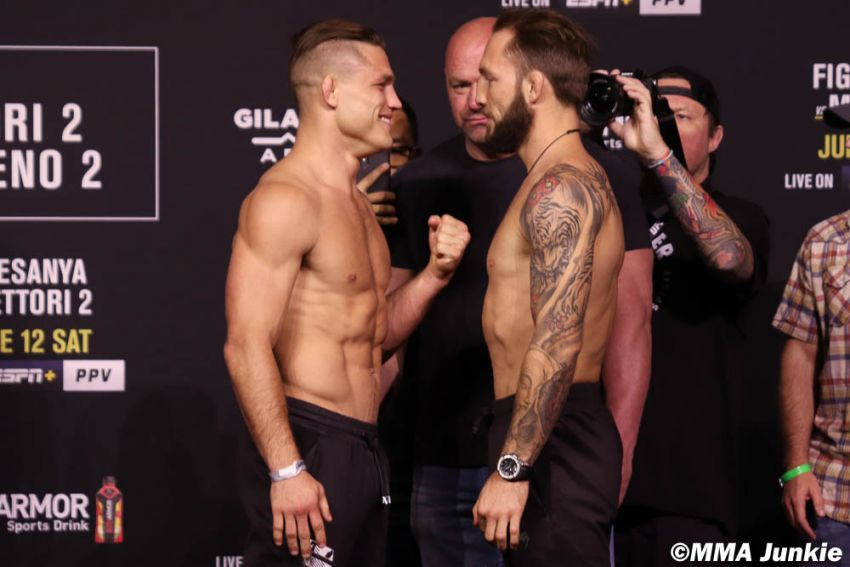 Видео боя Дрю Добер - Брэд Ридделл UFC 263