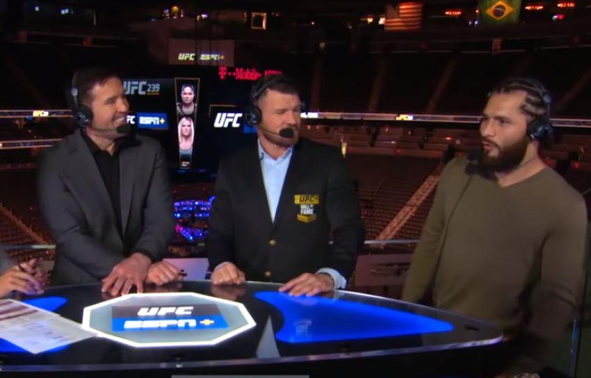 Майкл Биспинг рассказал о напряженной встрече с Хорхе Масвидалем в студии ESPN