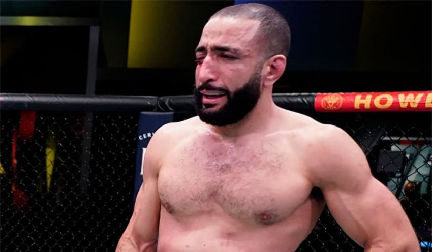 Belal Muhammad criticized Leon Edwards for refusing to hold a rematch with him