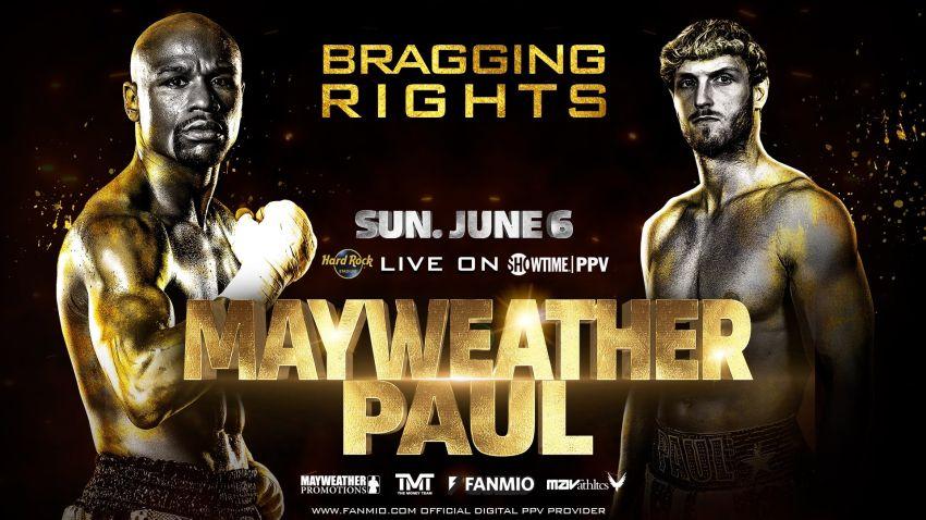 Официально: бой Флойд Мейвезер - Логан Пол состоится 6 июня в Майами