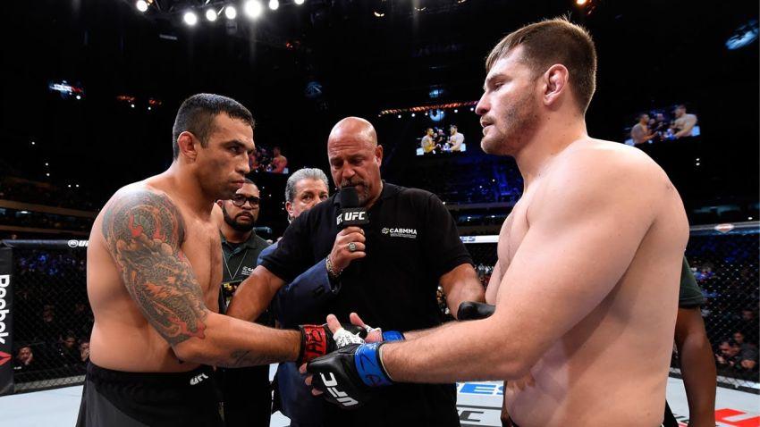 Видео боя Стипе Миочич – Фабрисио Вердум UFC 198