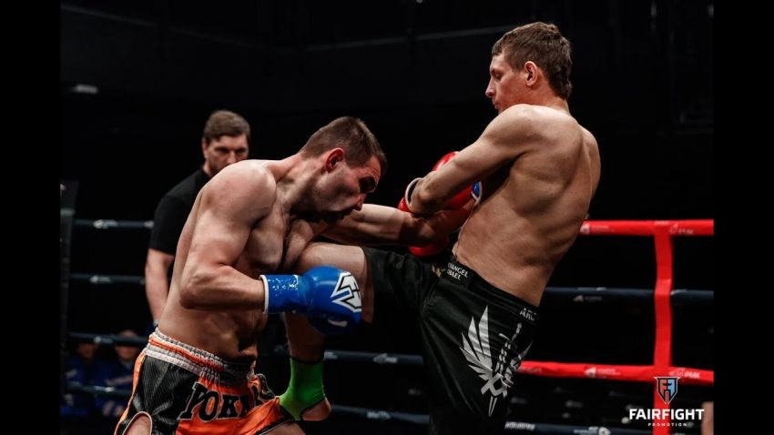 Видео боя Максим Сульгин - Антон Калинин Fair Fight XI