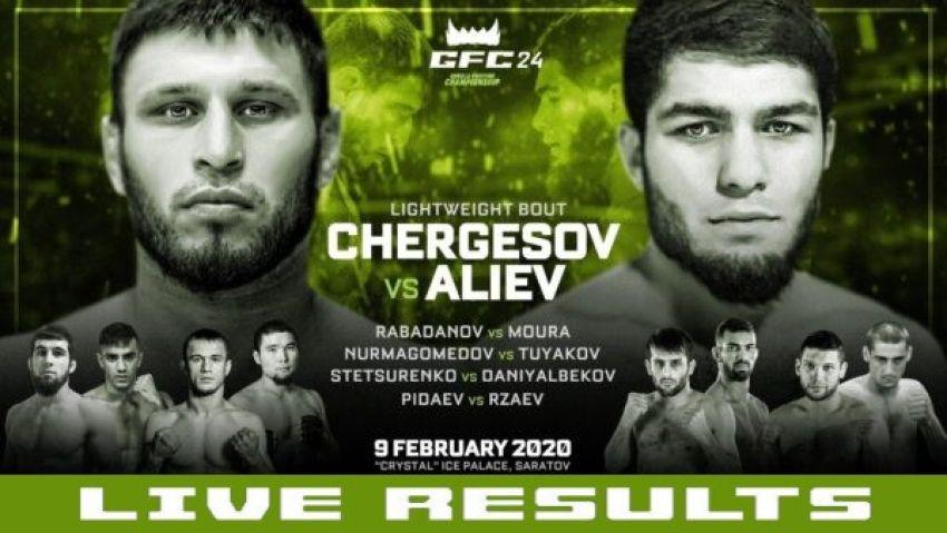 Результаты GFC 24: Анвар Чергесов – Нурулло Алиев