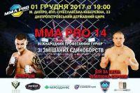 Прямая трансляция MMA Pro Ukraine 14