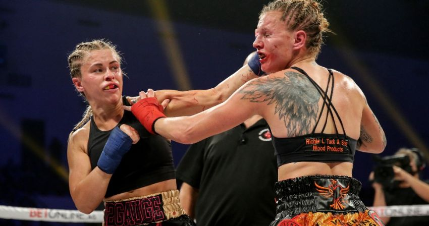 Paige Vanzant talks about immediate rematch with Britain Hart
