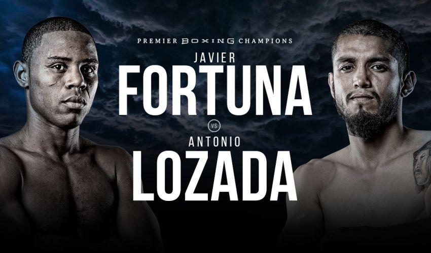 Прямая трансляция Хавьер Фортуна – Антонио Лозада