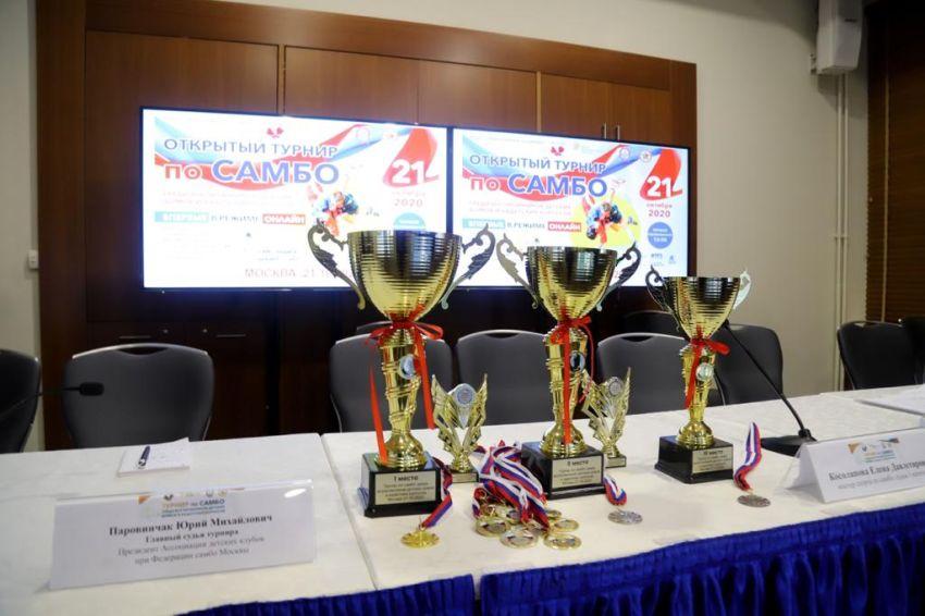 21 октября Открытый турнир по самбо среди воспитанников детских домов и кадетских корпусов