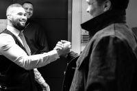Александр Усик и Тони Беллью встретились в Лондоне