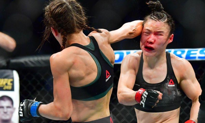 Роуз Намаюнас объяснила, почему не считает бой Жанг - Енджейчик лучшим в истории