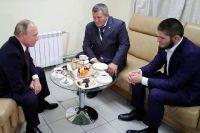 Владимир Путин выделил 600 миллионов рублей на школу имени Хабиба Нурмагомедова