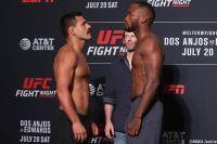 Видео боя Рафаэль Дос Аньос - Леон Эдвардс UFC on ESPN 4