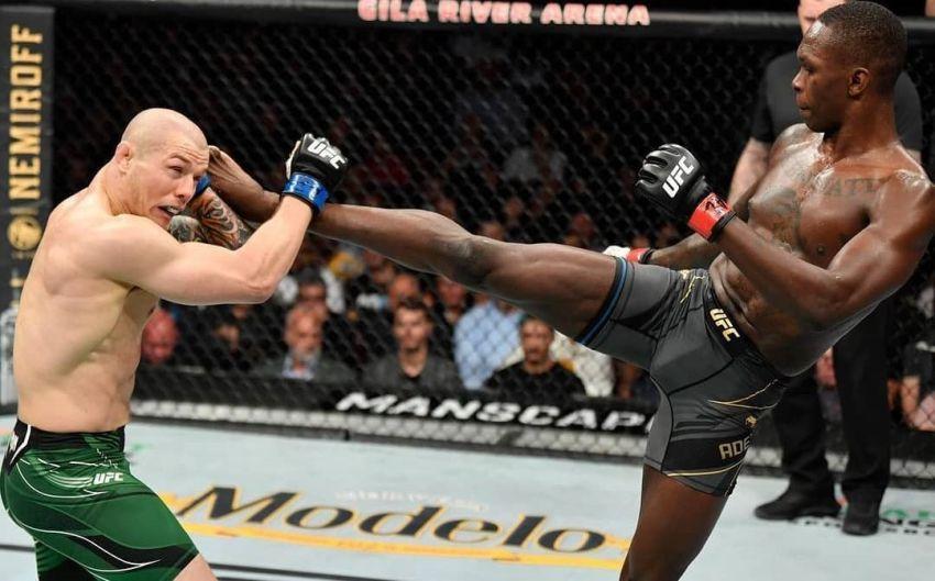 Исраэль Адесанья уверенно одолел Марвина Веттори, в третий раз защитив титул UFC