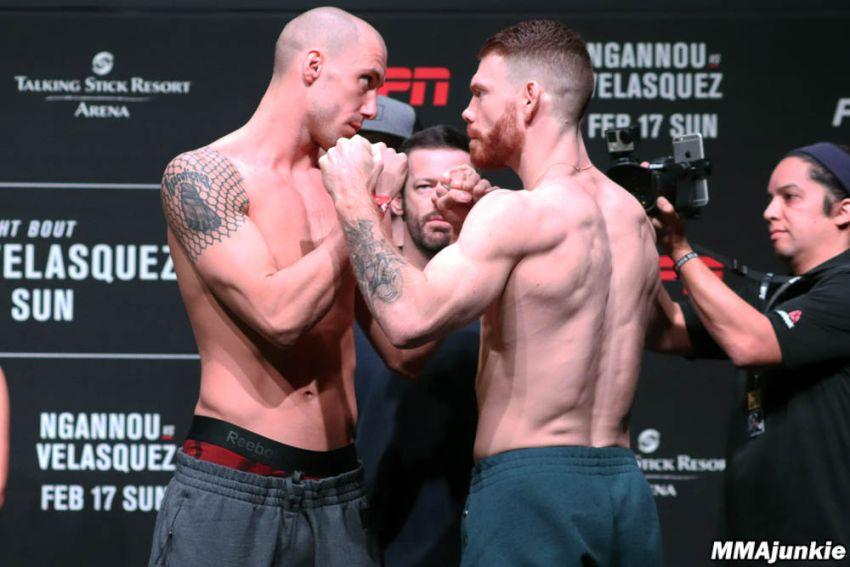 Видео боя Пол Фелдер - Джеймс Вик, UFC on ESPN 1