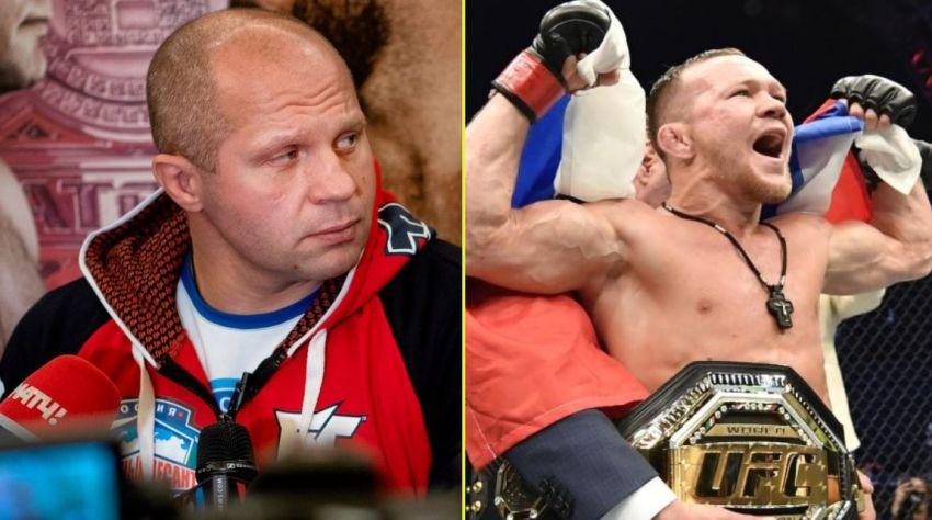 Fedor Emelianenko spoke about Petr Yan.