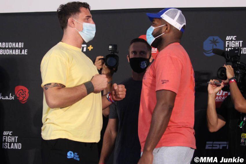 Видео боя Том Аспиналл - Алан Баду UFC on ESPN+ 37