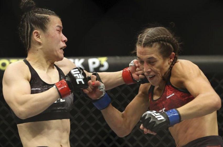 """Вейли Жанг рассказала, как лежала в одной палате с Енджейчик после UFC 248: """"Она плакала часами"""""""
