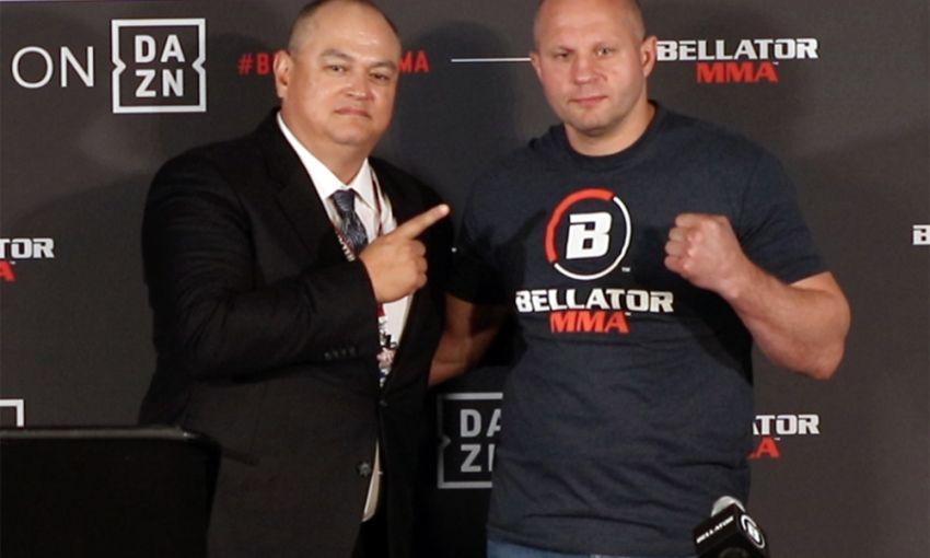 Президент Bellator назвал вероятную дату возвращения Федора Емельяненко