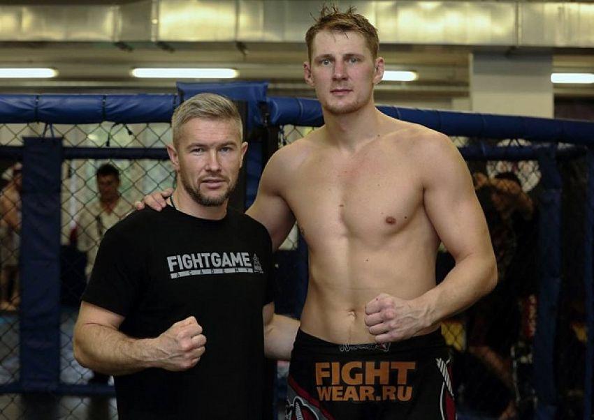 Тренер Александра Волкова Тарас Кияшко: «Подготовка к бою идет полным ходом»