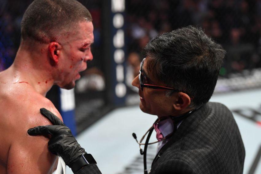 Джон МакКарти не согласен с решением врача остановить бой Масвидаля и Диаса на UFC 244